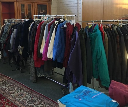 Collecting warm coats and clothing for The Hope House of Sedona.